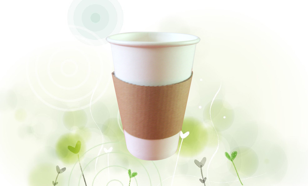 12oz Paper cup sleeve
