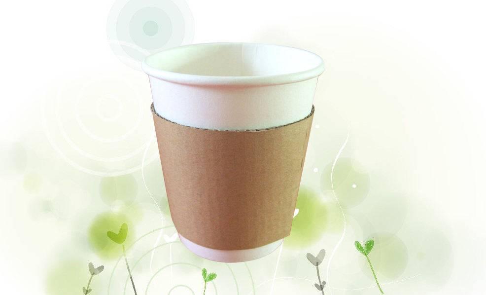 8oz paper cup Sleeve